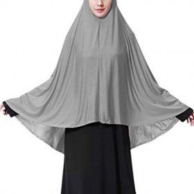 Oversized Long Hijab Muslim Turban Soft Breathable Islamic Nun Sister Headwear