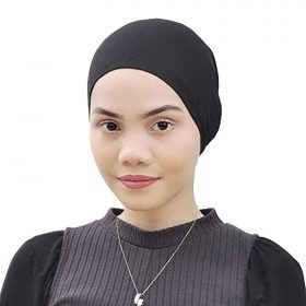 Silk Story Cotton Jersey Turban Hair Cover Under Scarf Shawl Hijab Cap Bonnet Cap Instant